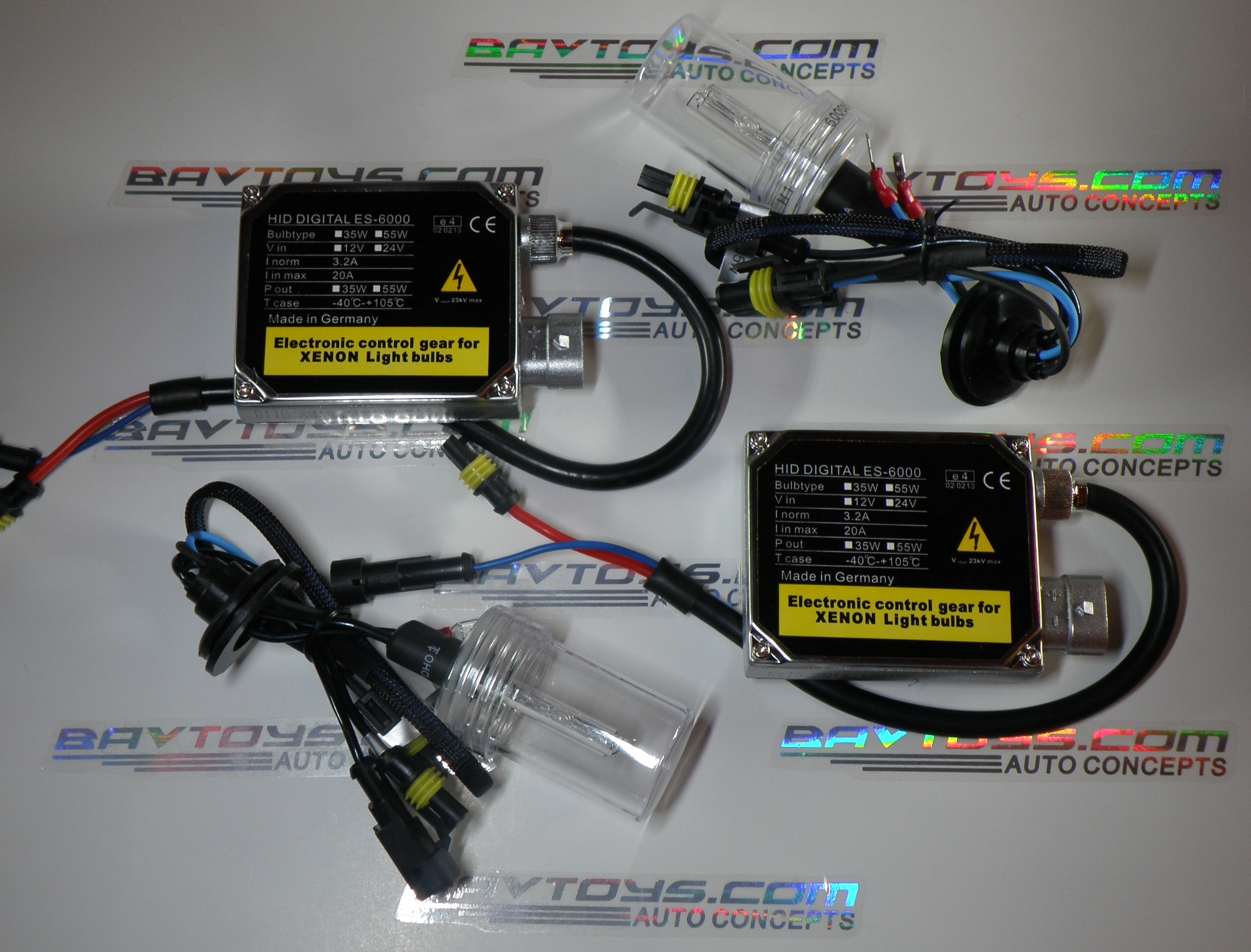 BT SLIM HIGH OUTPUT 35W kit